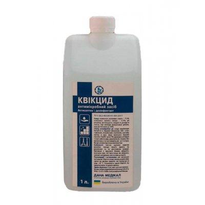 Антисептическое средство с дозатором Квикцид 1 литр