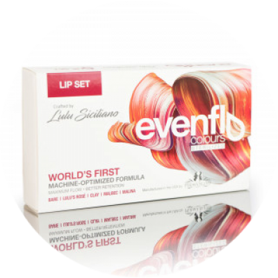 Набор пигментов Perma Blend Evenflo Lip Set 5x15 ml