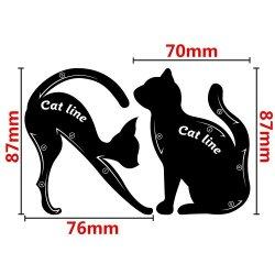 Трафарет для глаз Cat Line Pro