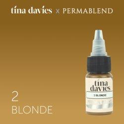 пигмент для перманентного макияжа Perma Blend Tina Davies Blonde