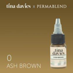 пигмент для перманентного макияжа Perma Blend Tina Davies Ash Brown