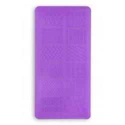 Пластина для стемпинга L14 (6 x 12)