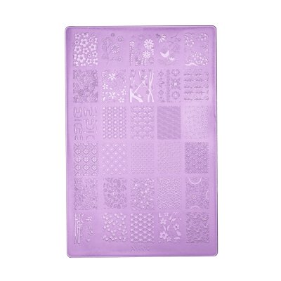 Пластина для стемпинга K10 (9.5 x 14.5)