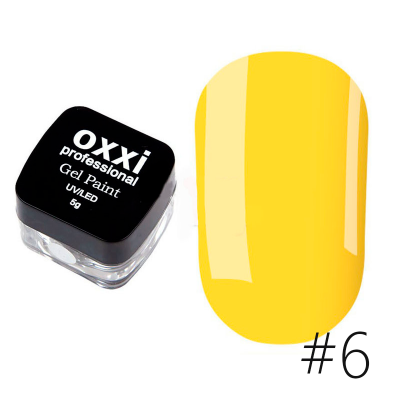 Гель-краска Oxxi Professional 06 5 г