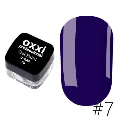 Гель-краска Oxxi Professional 07 5 г