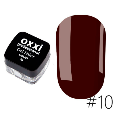 Гель-краска Oxxi Professional 10 5 г