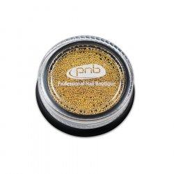 Бульонки для декора ногтей PNB Золото 0.8 мм