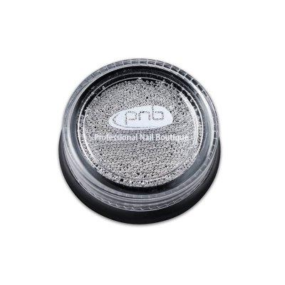 Бульонки для декора ногтей PNB Серебро 0.8 мм