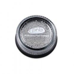 Бульонки для декора ногтей PNB Серебро 0.6 мм