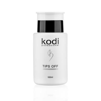 Жидкость для снятия гель-лака Kodi Professional Tips Off 160 мл