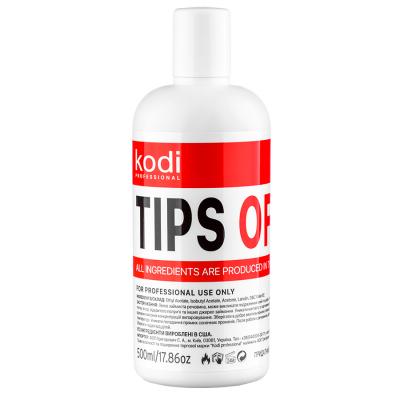 Жидкость для снятия гель-лака Kodi Professional Tips Off 500 мл