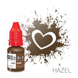 """HAZEL пигмент для ПМ бровей, """"Wizart"""" organic 10ml"""