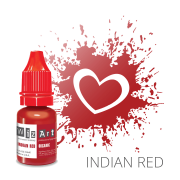 Пигмент для татуажа  WizArt Organic Indian Red 10 мл