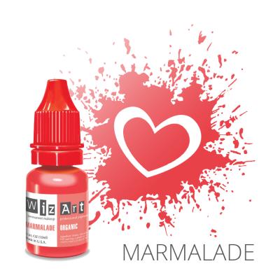 "MARMALADE пигмент для ПМ губ, ""Wizart"" organic 10ml"