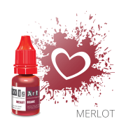 Пигмент для перманентного макияжа WizArt Organic Merlot 10 мл