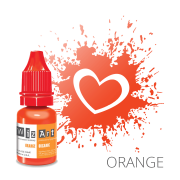Пигмент для татуажа  WizArt Organic Orange 10 мл