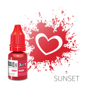 Пигмент для татуажа  WizArt Organic Sunset 10 мл