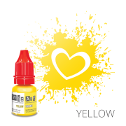 Пигмент для татуажа  WizArt Organic Yellow 5 мл