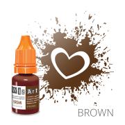 Пигмент для перманентного макияжа WizArt Strong Brown 10 мл