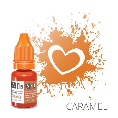 """Caramel, пигмент для ПМ губ, """"Wizart"""" 10ml"""
