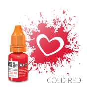 Пигмент для татуажа  WizArt Strong Cold Red 10 мл