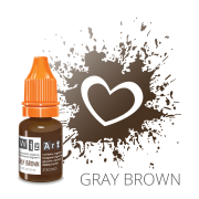 Пигмент для татуажа  WizArt Strong Gray Brown 10 мл