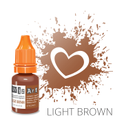Пигмент для татуажа  WizArt Strong Light Brown 10 мл