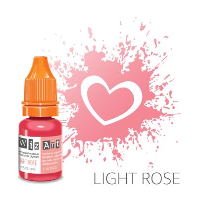 """Light Rose, пигмент для ПМ губ, """"Wizart"""" 10ml"""