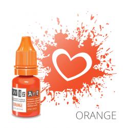 Пигмент для перманентного макияжа WizArt Strong Orange 10 мл