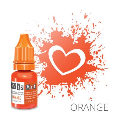 """Orange, пигмент для ПМ губ, """"Wizart"""" 10ml"""