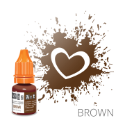 Пигмент для татуажа  WizArt Strong Brown 5 мл