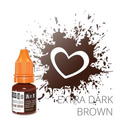 Пигмент для перманентного макияжа WizArt Strong Extra Dark Brown 5 мл