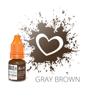 Пигмент для татуажа  WizArt Strong Gray Brown 5 мл