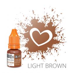 Пигмент для перманентного макияжа WizArt Strong Light Brown 5 мл