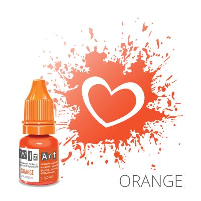 """Orange, пигмент для ПМ губ, """"Wizart"""" 5ml"""