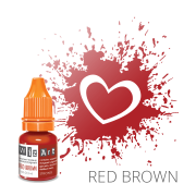 Пигмент для татуажа  WizArt Strong Red Brown 5 мл