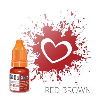 "Red Brown, пигмент для ПМ губ, ""Wizart"" 5ml"
