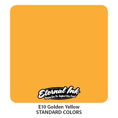 Golden Yellow. Eternal ink, 15 мл