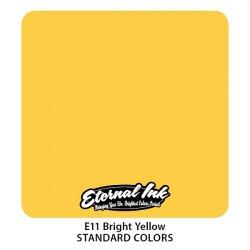 Тату краска Eternal Ink (E11) Bright Yellow 15 мл