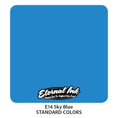 Sky Blue. Eternal ink, 15 мл