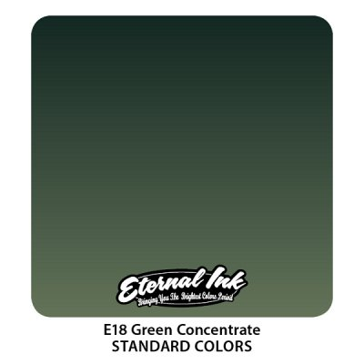 Green Concentrate. Eternal ink, 15 мл