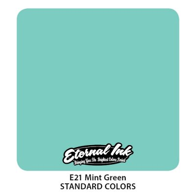 Mint Green. Eternal ink, 15 мл