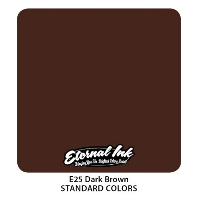 Dark Brown. Eternal ink, 15 мл
