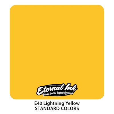 Lightning Yellow. Eternal ink, 15 мл