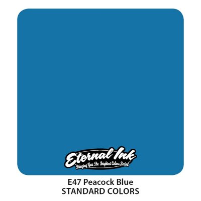 Peacock Blue. Eternal ink, 15 мл
