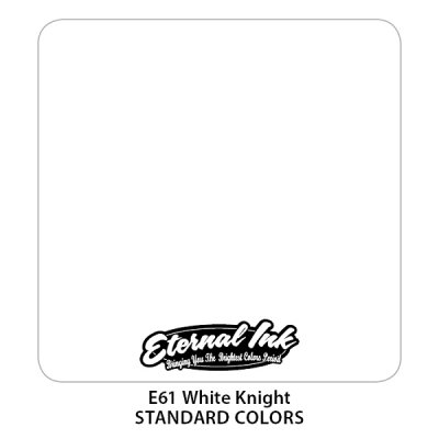 White Knight. Краска тату Eternal ink, 15 мл