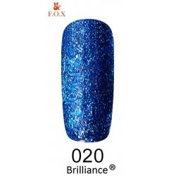 Гель-лак F.O.X Brilliance 020 6 мл