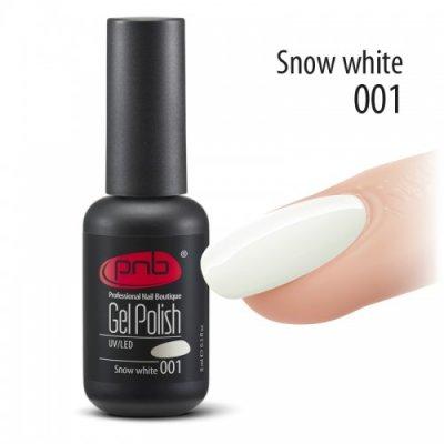 Гель-лак PNB 001 8 мл Snow White