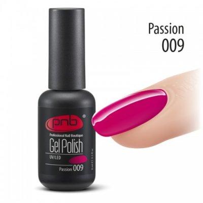 Гель-лак PNB 009 8 мл Passion