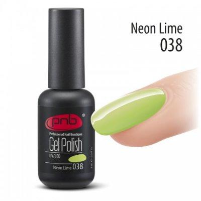 Гель-лак PNB 038 8 мл Neon Lime